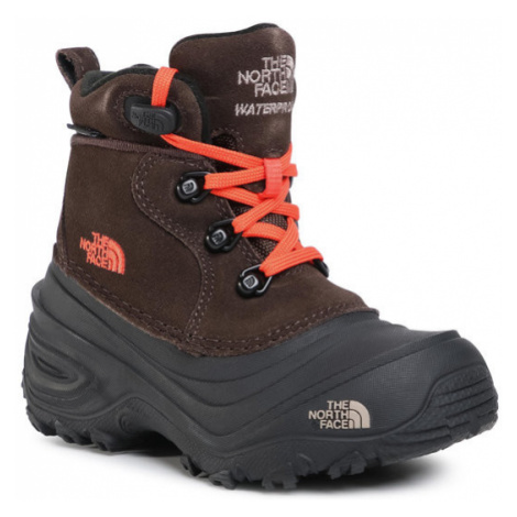 The North Face Śniegowce Youth Chilkat Lace II NF0A2T5RV6M Brązowy