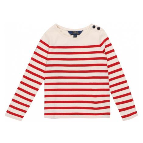 POLO RALPH LAUREN Koszulka czerwony / biały