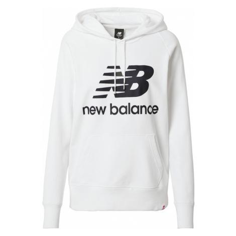New balance Bluzka sportowa 'Essentials' biały / czarny