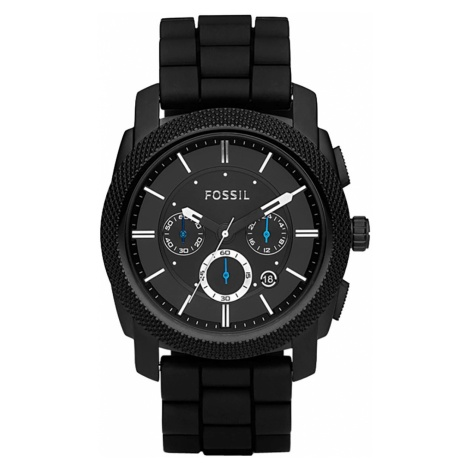 Zegarek FOSSIL - Machine FS4487 Black/Black