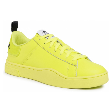Sneakersy DIESEL - S-Clever Low Lace Y02045 P3413 T3154 Yellow Fluo