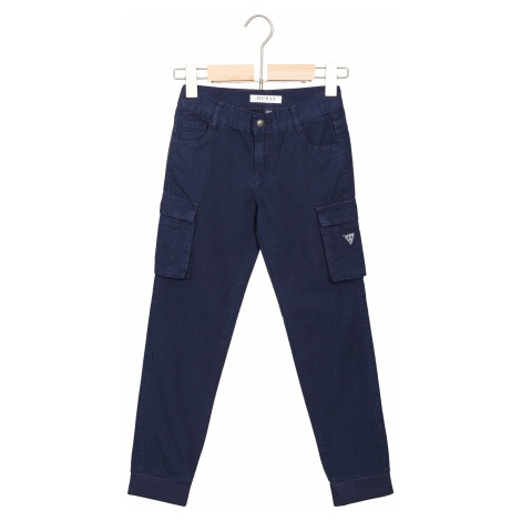 Guess Spodnie dziecięce Niebieski
