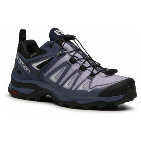Trekkingi SALOMON - X Ultra 3 Gtx GORE-TEX 406761 22 W0 Languid Lavender/Crown Blue/Navy Blazer