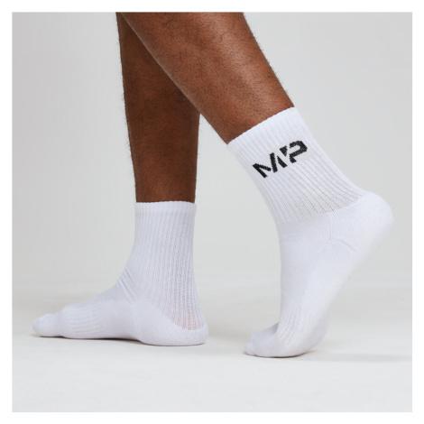 Męskie Skarpety Crew Socks - Białe