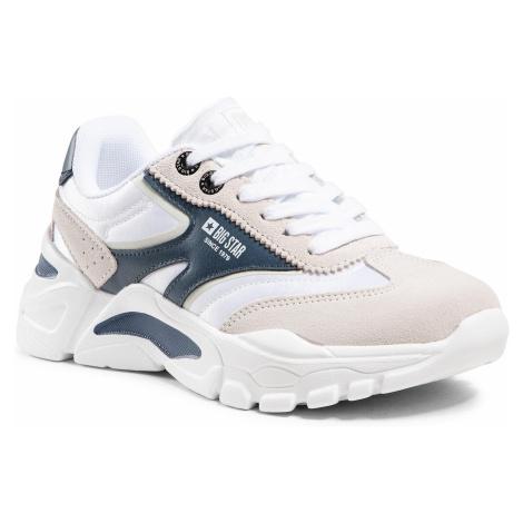 Sneakersy BIG STAR - HH274335 White