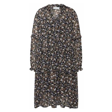 Neo Noir Sukienka koszulowa 'Hampton Flower' czarny