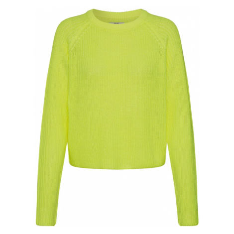 ONLY Sweter 'ONLBREE PULLOVER' neonowo-żółty
