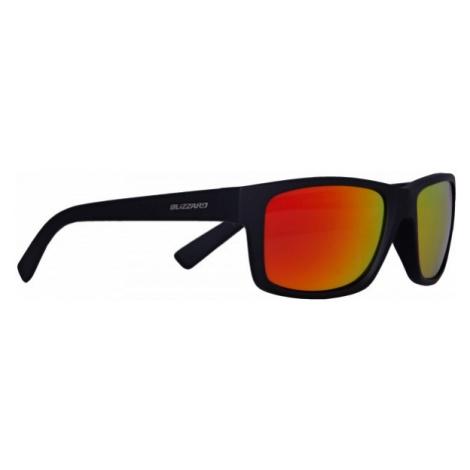Blizzard RUBBER BLACK czarny  - Okulary przeciwsłoneczne
