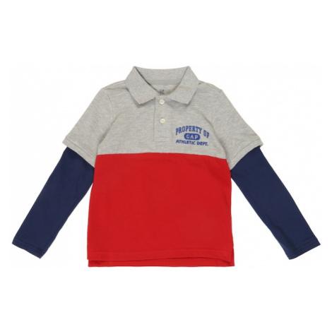 GAP Koszulka 'V-LS2N1GRPOLO' czerwony