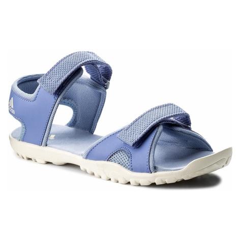 Sandały adidas - Sandplay Od K CM7647 Aerblu/Chablu/Aergrn