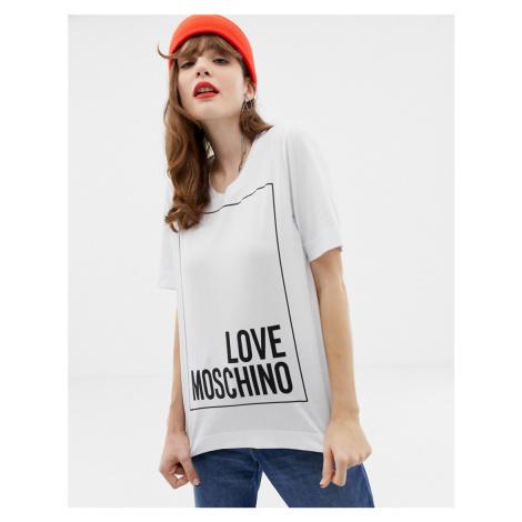 Love Moschino Classic logo t-shirt