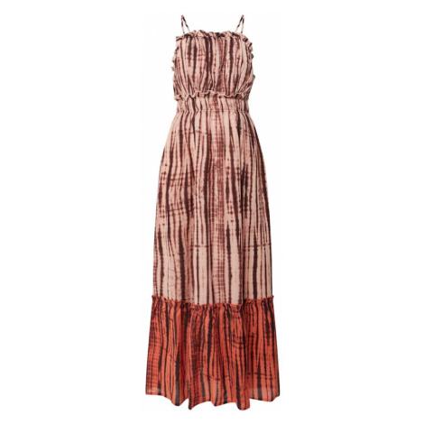 Y.A.S Sukienka 'YASTIPPA' rdzawobrązowy / piaskowy