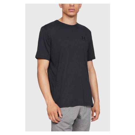 Czarny T-shirt Under Armour Sportstyle