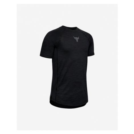 Under Armour Project Rock Charged Cotton® Koszulka dziecięce Czarny
