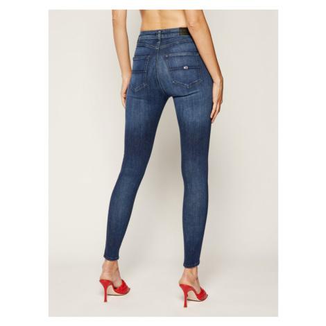 Tommy Jeans Jeansy Skinny Fit Tj 2008 DW0DW07482 Granatowy Super Skinny Fit Tommy Hilfiger
