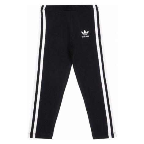 Czarne dziewczęce sportowe spodnie
