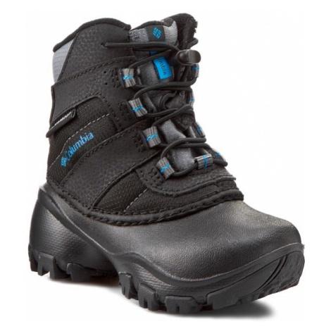 Trekkingi COLUMBIA - Childrens Rope Tow III Waterproof BC1322 Black/Dark Compass 010