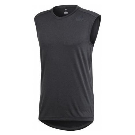 adidas CLIMAC SL ciemnaszary L - Koszulka bez rękawów męska