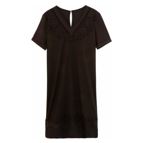 Desigual Sukienka 'Vest Lisa' czarny