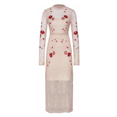 VILA Sukienka różowy pudrowy