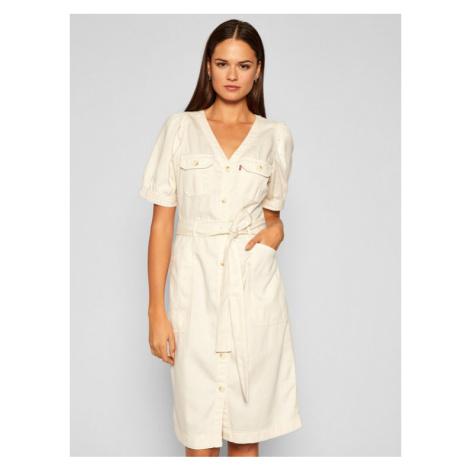 Levi's® Sukienka jeansowa Bryn 21969-0000 Beżowy Regular Fit Levi´s