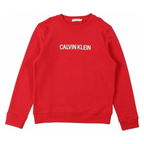 Calvin Klein Jeans Bluza czerwony