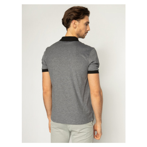 Boss Polo Parlay 70 50423189 Szary Regular Fit Hugo Boss