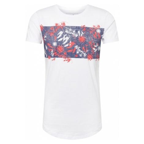 TOM TAILOR DENIM Koszulka mieszane kolory / biały