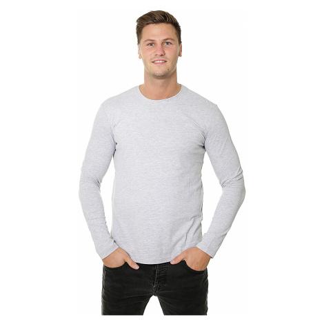 koszulka 4F X4Z18-TSML300/LS - Cool Light Gray Melange