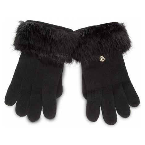 Rękawiczki Damskie TRUSSARDI JEANS - Gloves Knitted Ecofur 59Z00115 9Y099999 K299