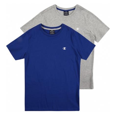 Champion Authentic Athletic Apparel Koszulka królewski błękit / nakrapiany szary