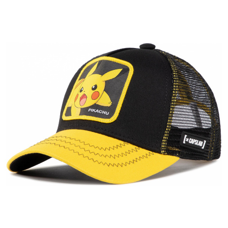 Czapka z daszkiem CAPSLAB - Pokemon Pikachu CL/PKM2/3/PIK6 Black