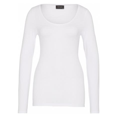 VILA Koszulka 'VIOFFICIEL' biały