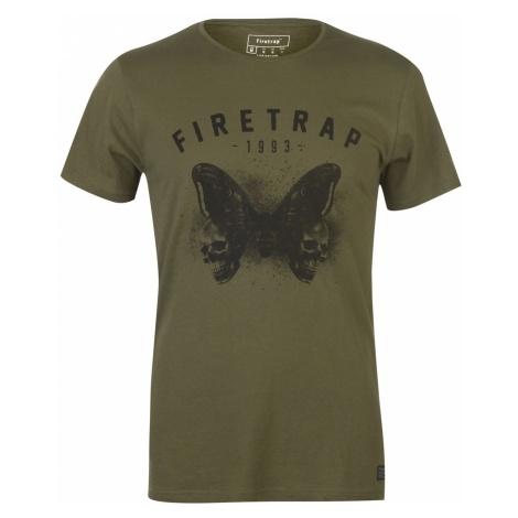 Firetrap Graphic T Shirt Mens