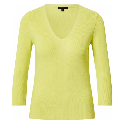 MORE & MORE Sweter limonkowy
