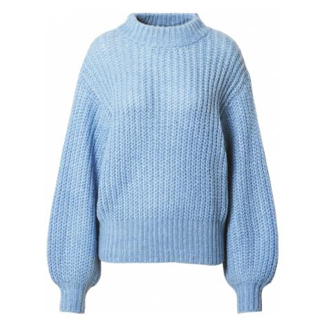 SISTERS POINT Sweter 'LILJA-PU' niebieski