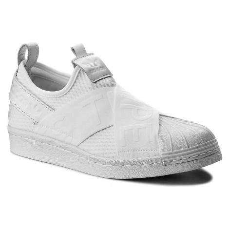 Buty adidas - Superstar SlipOn W CQ2381 Ftwwht/Ftwwht/Cblack