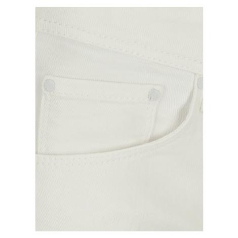 Pepe Jeans Szorty jeansowe Siouxie PL800685TA2 Biały Regular Fit
