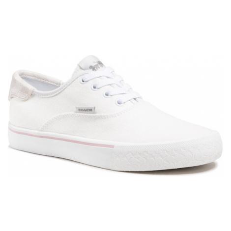 Coach Tenisówki Citysole Skate Canva C2702 10011275 Biały