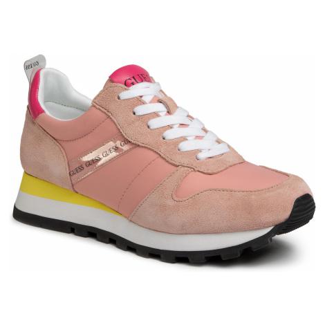 Sneakersy GUESS - Ariel FL6ARI FAB12 PINK