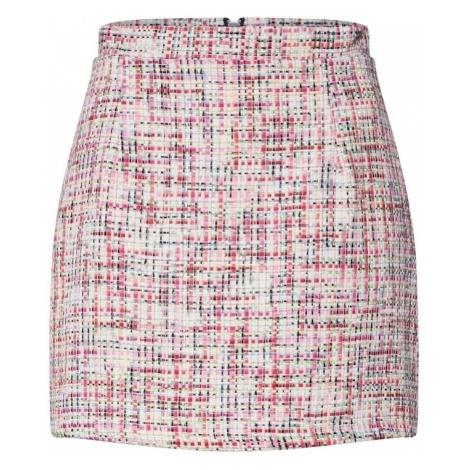 GLAMOROUS Spódnica różowy pudrowy