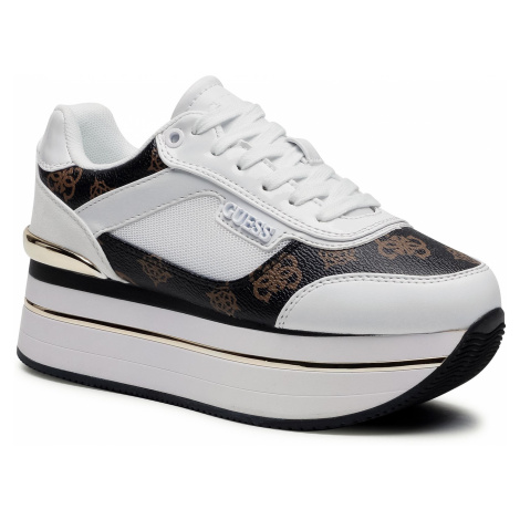 Sneakersy GUESS - Hansin FL5HNS FAL12 OFFWH