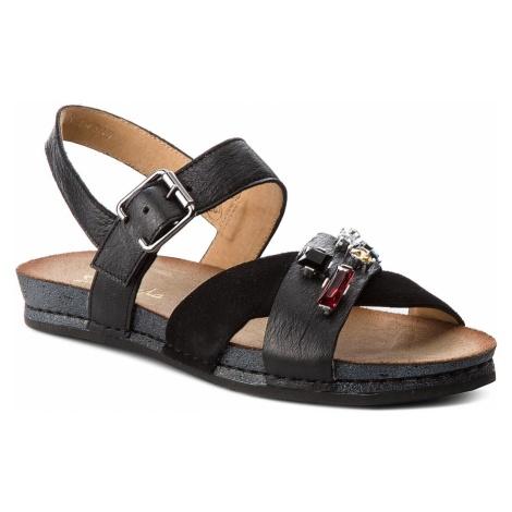Sandały MACIEJKA - 03730-01/00-5 Czarny