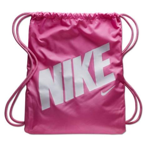 Nike Y GYMSACK - AOP różowy NS - Worek sportowy dziecięcy