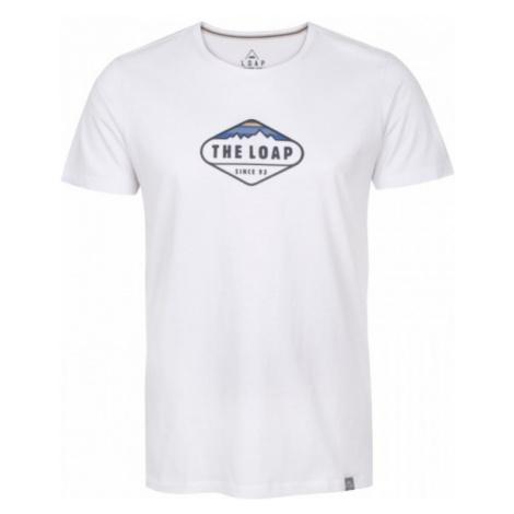 Loap BANDOS biały XXL - Koszulka męska