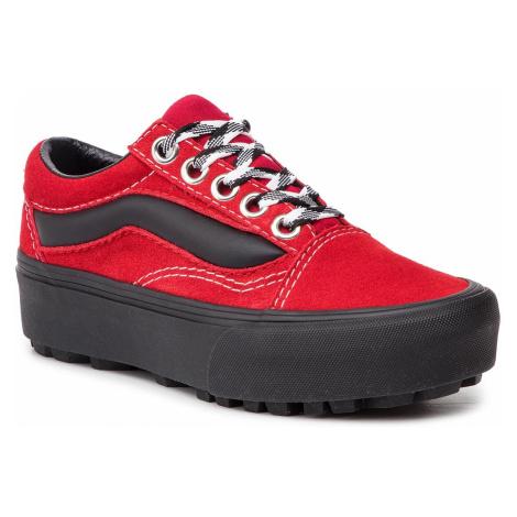 Sneakersy VANS - Old Skool Lug Pla VN0A3WLXVRX1 (90s Retro) Chili Pepper