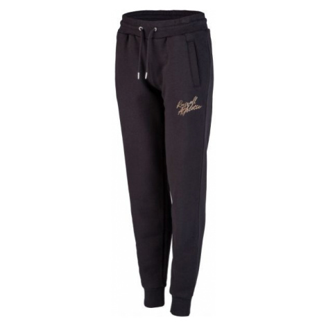 Russell Athletic SPODNIE DRESOWE DAMSKIE granatowy XL - Spodnie dresowe damskie