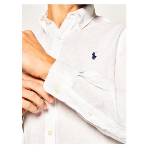 Lauren Ralph Lauren Koszula Classics 710794142 Biały Slim Fit
