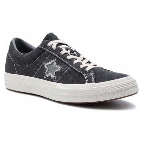 Tenisówki CONVERSE - One Star Ox 164360C Black/Mason/Egret