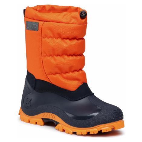 Śniegowce CMP - Kids Hanki 2.0 30Q4704J Arancio C704